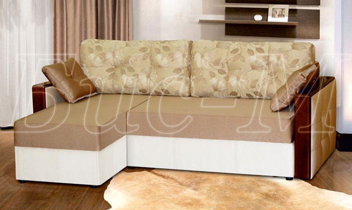 Ніка  з отоманкою - мебельная фабрика Бис-М. Фото №3. | Диваны для нирваны